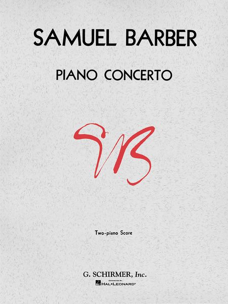 Piano Concerto, Op. 38 : reduction For Two Pianos, Four Hands.