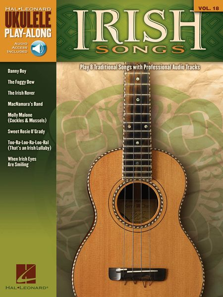 Irish Songs : Play 8 Traditional Songs With Professional Audio Tracks.