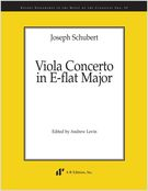 Viola Concerto In E-Flat Major / edited by Andrew Levin.