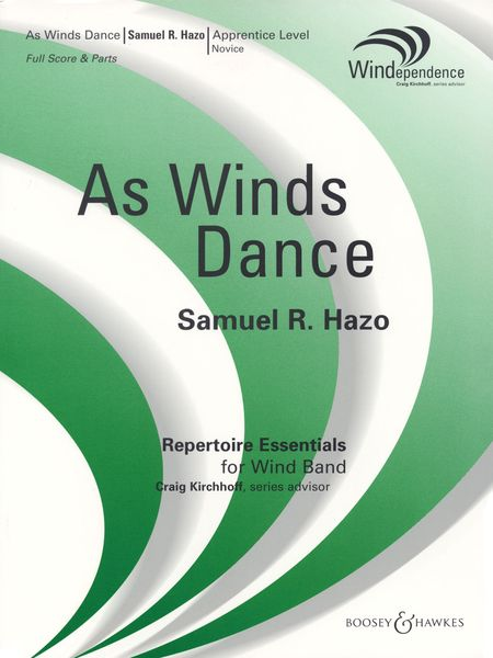 As Winds Dance : For Concert Band.