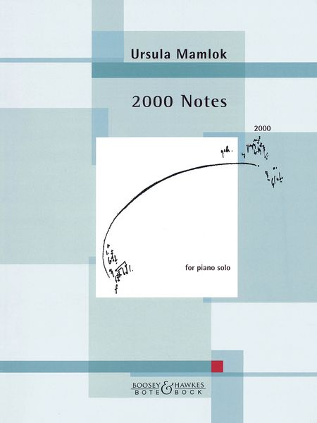 2000 Notes : For Piano Solo (2000).