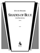 Shades Of Blue : For Orchestra (1993).