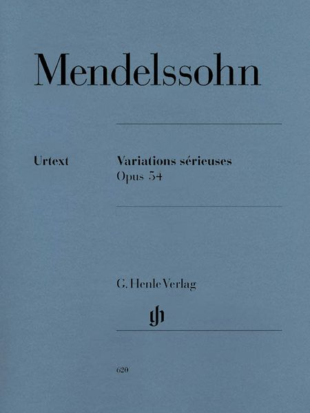 Variations Serieuses, Op. 54 : For Piano / edited From Autograph by Christa Jost.