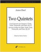 Two Quintets / edited by Martin Harlow.
