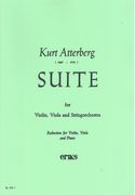 Suite, Op. 19 No. 1 : For Violin, Viola and String Orchestra - Piano reduction.