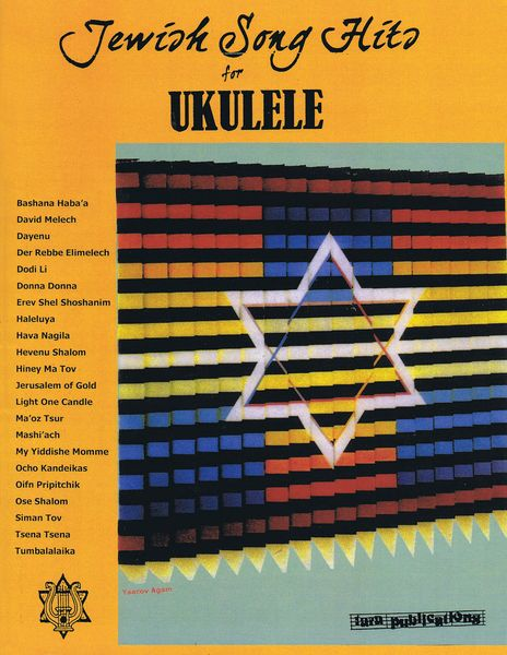 Jewish Song Hits : For Ukulele / arranged by Dick Sheridan.