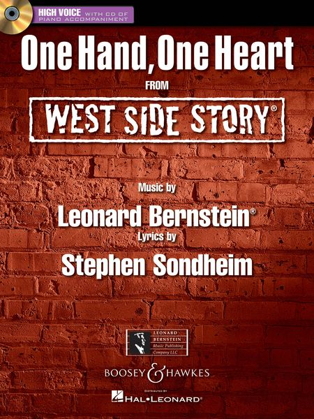 One Hand, One Heart : For High Voice With Piano Accompaniment.