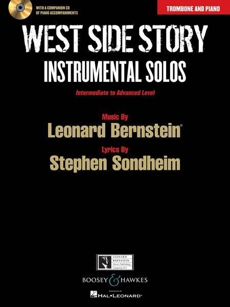 West Side Story - Instrumental Solos : For Trombone and Piano / arranged by Joshua Parman.