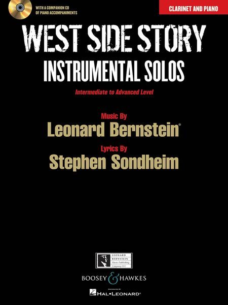 West Side Story - Instrumental Solos : For Clarinet and Piano / arranged by Joshua Parman.