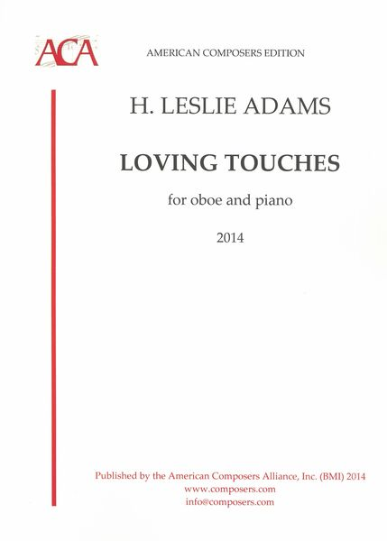 Loving Touches : For Oboe and Piano (2014).
