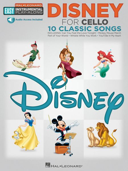 Disney For Cello : 10 Classic Songs.