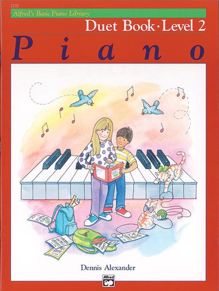 Piano : Duet Book, Level 2.