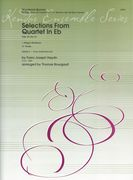 Selections From Quartet In E Flat, Op. 33 No. 2 : For Woodwind Quintet / arr. Thomas Bourgault.