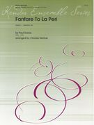 Fanfare To la Peri : For Brass Quintet / arranged by Charles Decker.