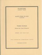 Three Songs From The Tang Dynasty : For Soprano, Piano, Flute, Violin and Cello.