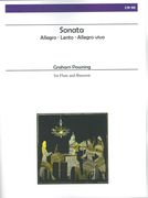 Sonata : For Flute and Bassoon.
