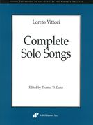 Complete Solo Songs / edited by Thomas D. Dunn.