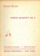 String Quartet No. 5.