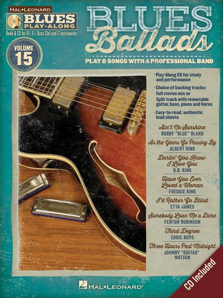 Blues Ballads : Play 8 Songs With A Professional Band.