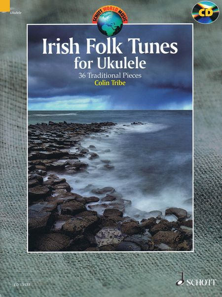 Irish Folk Tunes For Ukulele : 36 Traditional Pieces / edited and arranged by Colin Tribe.