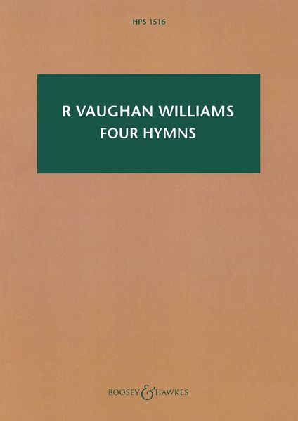 Four Hymns : For Tenor, Solo Viola and String Orchestra.