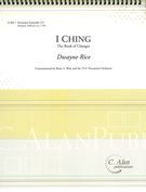 I Ching - The Book Of Changes : For Percussion Ensemble.
