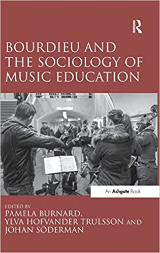 Bourdieu and The Sociology Of Music Education.