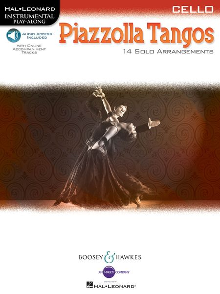 Piazzolla Tangos - 14 Solo Arrangements : For Cello.