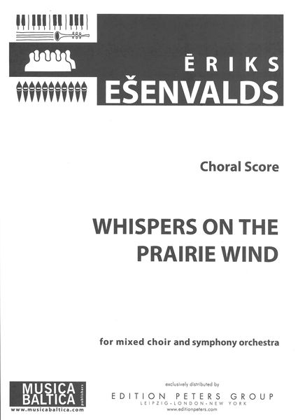 Whispers On The Prairie Wind : For Mixed Choir and Orchestra - Piano reduction.