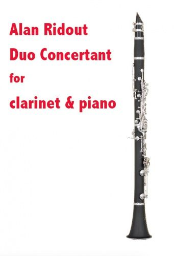 Duo Concertant : For Clarinet and Piano (1986).