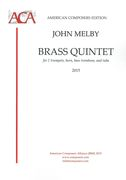 Brass Quintet : For 2 Trumpets, Horn, Bass Trombone and Tuba (2015).