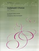 Hallelujah Chorus (From Messiah) : For Brass Quintet / arranged by Arthur Frackenpohl.