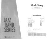 Work Song : For Jazz Band / arranged by Erik Morales.