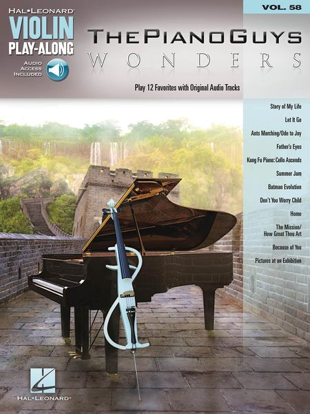 Wonders : Play 12 Favorites With Original Audio Tracks.
