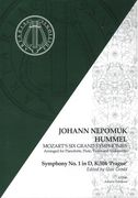 Symphony No. 1 In D, K. 504 (Prague) : For Pianoforte, Flute, Violin and Cello / arr. J. N. Hummel.