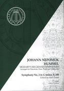 Symphony No. 2 In G Minor, K. 550 : For Pianoforte, Flute, Violin and Cello / arr. J. N. Hummel.