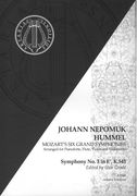 Symphony No. 3 In E Flat, K. 543 : For Pianoforte, Flute, Violin and Cello / arr. J. N. Hummel.