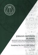 Symphony No. 5 In D, K. 385 (Haffner) : For Pianoforte, Flute, Violin and Cello / arr. J. N. Hummel.