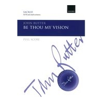 Be Thou My Vision : For SATB and Small Orchestra.