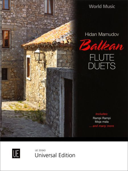 Balkan Flute Duets : For Two Flutes / arranged by Hidan Mamudov.
