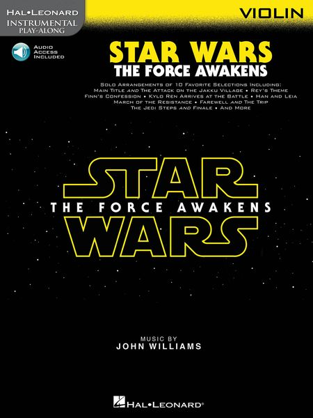 Star Wars - The Force Awakens : For Violin.