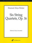 Six String Quartets, Op. 16 / edited by Nancy November.