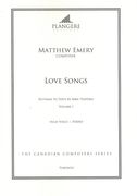 Love Songs - Settings To Texts by Sara Teasdale, Vol. 1 : For High Voice and Piano.