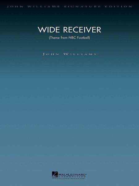 Wide Receiver (Theme From NBC Football) : For Orchestra.