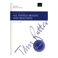 All Things Bright and Beautiful : For SATB and Small Orchestra.