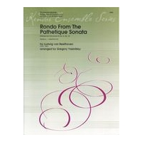 Rondo From The Pathetique Sonata : For Woodwind Quintet / arranged by Gregory Yasinitsky.