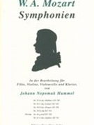 Sinfonie Nr. 40 G-Moll, K. 550 : For Flute, Violin, Cello and Piano / arr. Hummel.