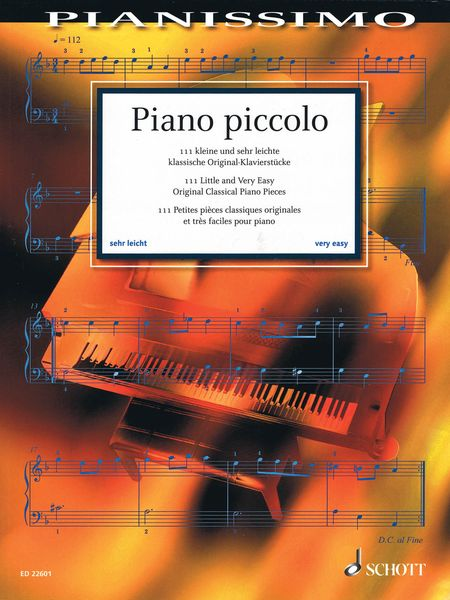 Piano Piccolo : 111 Little and Very Easy Original Classical Piano Pieces / Ed. Hans-Günter Heumann.