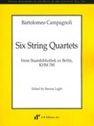 Six String Quartets From Staatsbibliothek Zu Berlin, Khm 780 / edited by Simone Laghi.