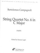String Quartet No. 6 In C Major / edited by Simone Laghi.